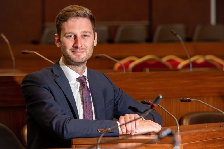 Sean Fielding, the Leader of Oldham Council