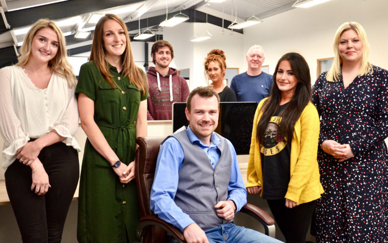 New staff at Cornerstone Design & Marketing