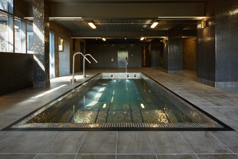 RED Manufacturing, part of the Ripple Group, designed and installed the jacuzzi pool and spa fittings at the Waterside Hotel, Didsbury, Manchester