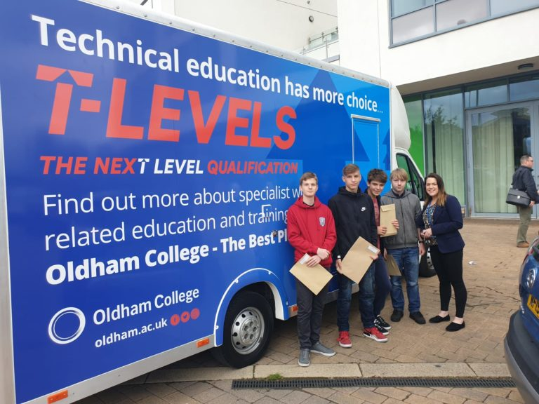 Oldham College T-Level van
