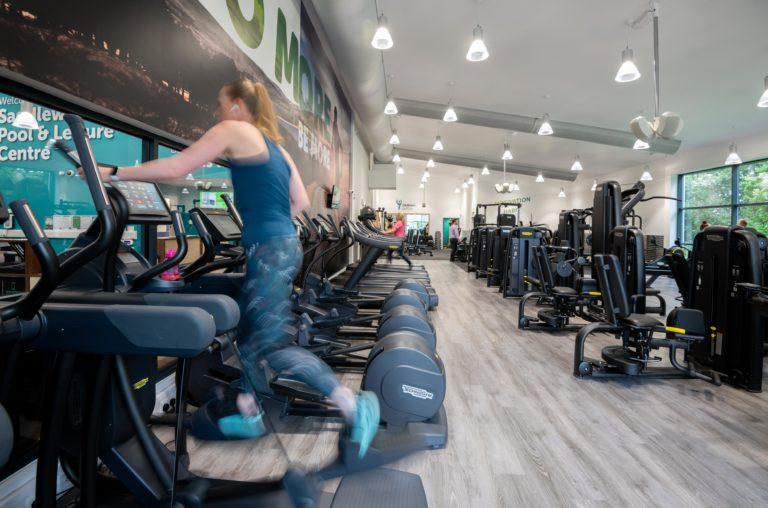 OCL Sadadleworth Leisure Centre new gym