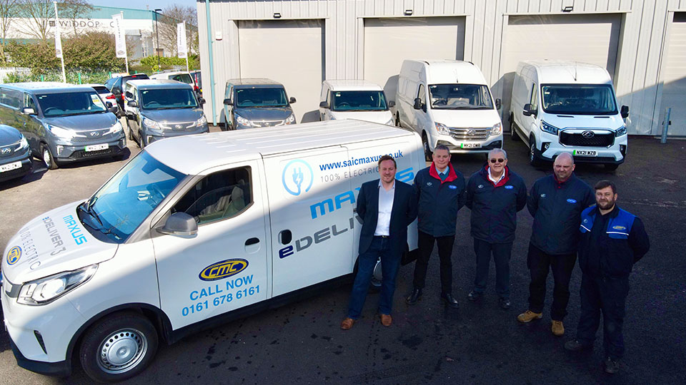 Chadderton Motor Companys' ambitions grow creating new members of the team and a new fleet of electrical commercial vehicles.