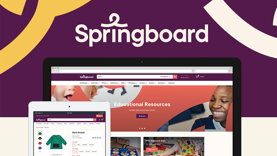 Springboard Supplies offers new web experience for customers.
